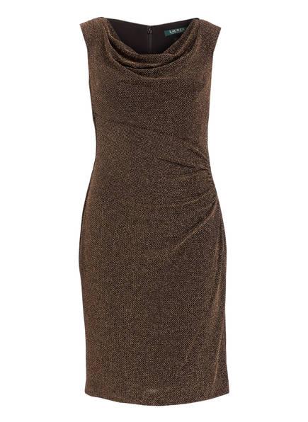 LAUREN RALPH LAUREN Kleid, Farbe: SCHWARZ/ GOLD (Bild 1)