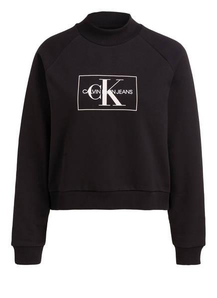 Calvin Klein Jeans Sweatshirt, Farbe: SCHWARZ (Bild 1)
