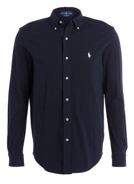 POLO RALPH LAUREN Piqué-Hemd Regular Fit, Farbe: DUNKELBLAU (Bild 1)