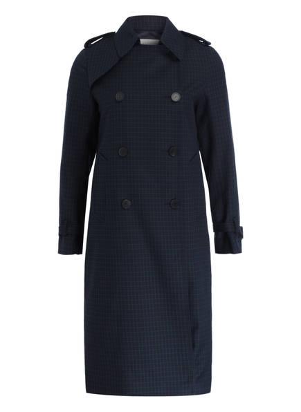 sandro Trenchcoat, Farbe: BLAU/ GRÜN KARIERT (Bild 1)