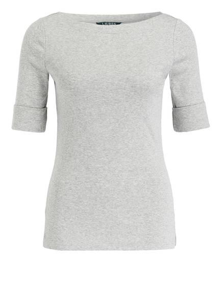 LAUREN RALPH LAUREN T-Shirt, Farbe: GRAU MELIERT (Bild 1)