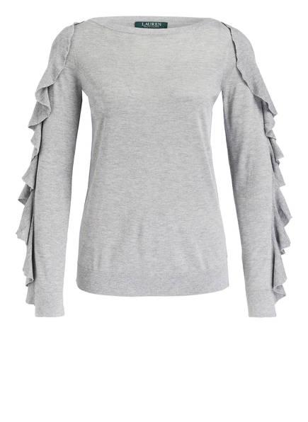 LAUREN RALPH LAUREN Pullover, Farbe: GRAU MELIERT (Bild 1)
