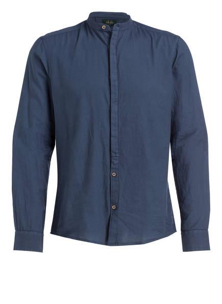 Wiesnkönig Trachtenhemd , Farbe: BLAU (Bild 1)