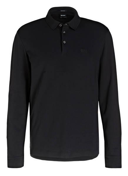 BOSS Jersey-Poloshirt PADO Regular Fit, Farbe: SCHWARZ (Bild 1)