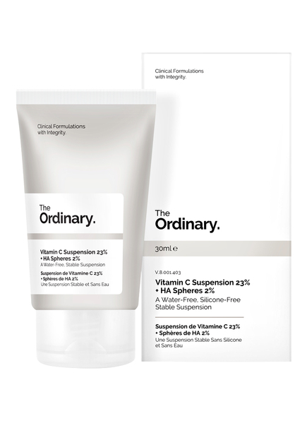 The Ordinary. VITAMIN C SUSPENSION 23% + HA SPHERES 2% (Bild 1)