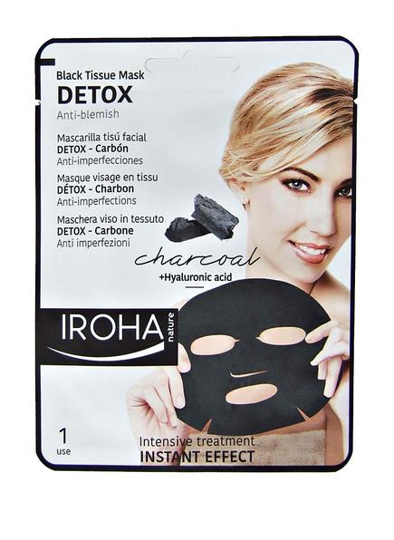 IROHA BLACK TISSUE MASK DETOX (Bild 1)