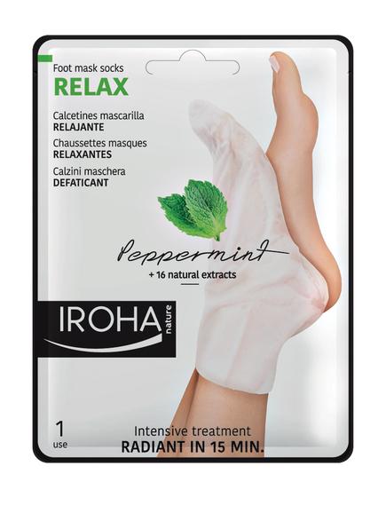IROHA RELAX SOCKS PEPPERMINT (Bild 1)