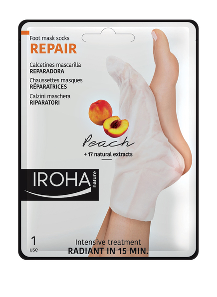 IROHA REPAIR SOCKS PEACH (Bild 1)