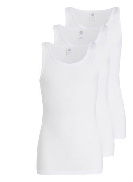 Sanetta 3er-Pack Unterhemden, Farbe: WEISS (Bild 1)