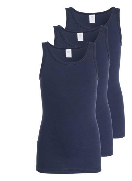 Sanetta 3er-Pack Unterhemden, Farbe: DUNKELBLAU (Bild 1)