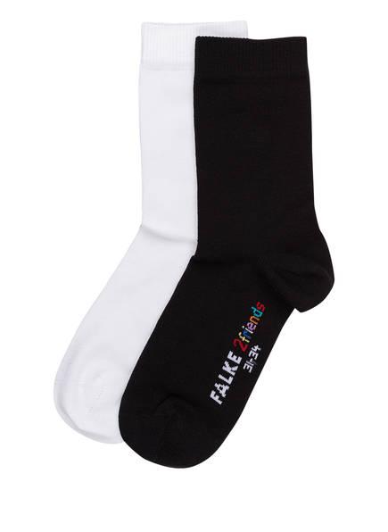 FALKE 2er-Pack Socken 2FRIENDS, Farbe: 0010 SORTIMENT (Bild 1)