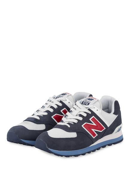 new balance Sneaker ML574, Farbe: NAVY/ WEISS/ ROT (Bild 1)