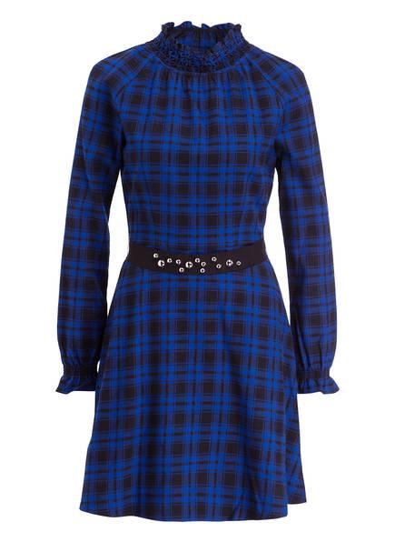 maje Kleid RIVINE, Farbe: SCHWARZ/ BLAU KARIERT (Bild 1)