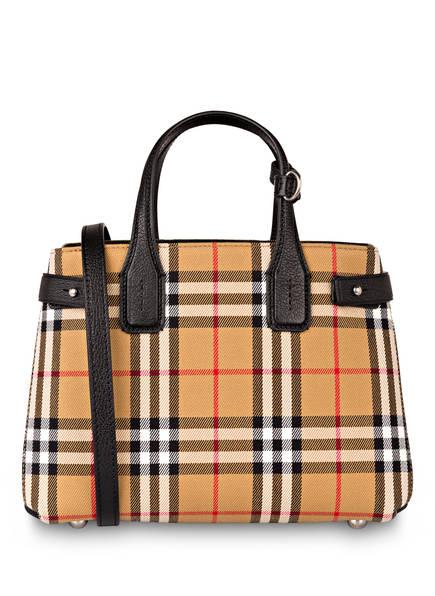 BURBERRY Handtasche THE BANNER SMALL , Farbe: VINTAGE CHECK/ SCHWARZ (Bild 1)
