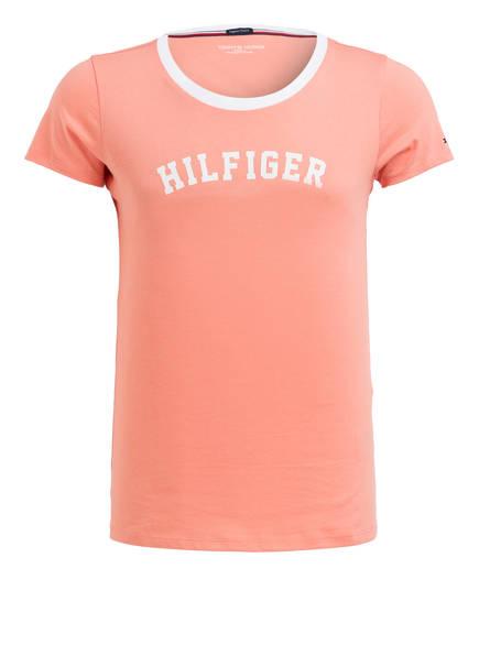 TOMMY HILFIGER Lounge-Shirt, Farbe: KORALL (Bild 1)