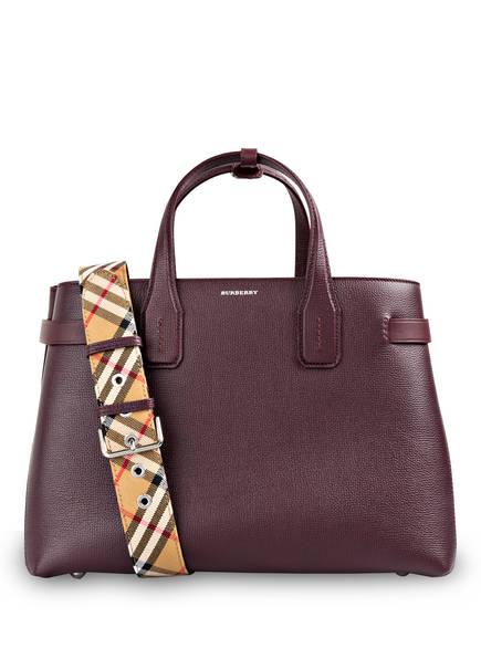 BURBERRY Handtasche THE BANNER MEDIUM , Farbe: MAHOGANY RED (Bild 1)