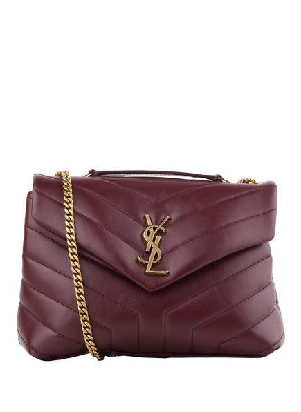 SAINT LAURENT Umhängetasche LOULOU SMALL , Farbe: ROT (Bild 1)