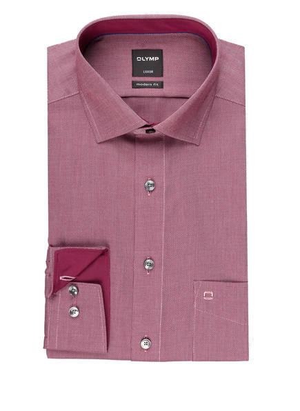 OLYMP Hemd Luxor modern fit, Farbe: DUNKELROT (Bild 1)
