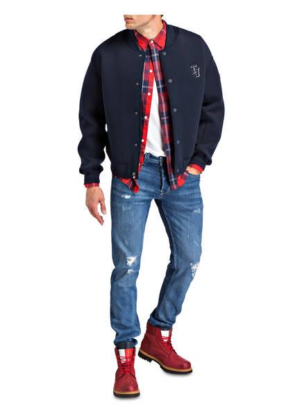 shirt Jaspe T Jeans Weiss Tommy qRBawxEgz