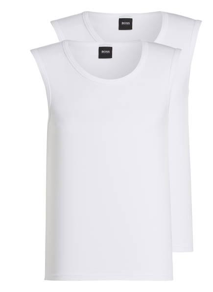 BOSS 2er-Pack Unterhemden, Farbe: WEISS (Bild 1)