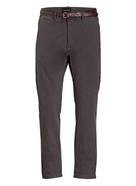 SCOTCH & SODA Chino STUART Regular Slim Fit, Farbe: DUNKELGRAU (Bild 1)