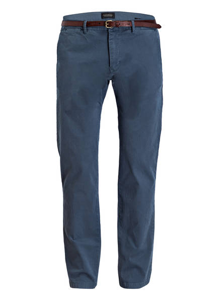 SCOTCH & SODA Chino STUART Regular Slim Fit, Farbe: BLAU (Bild 1)