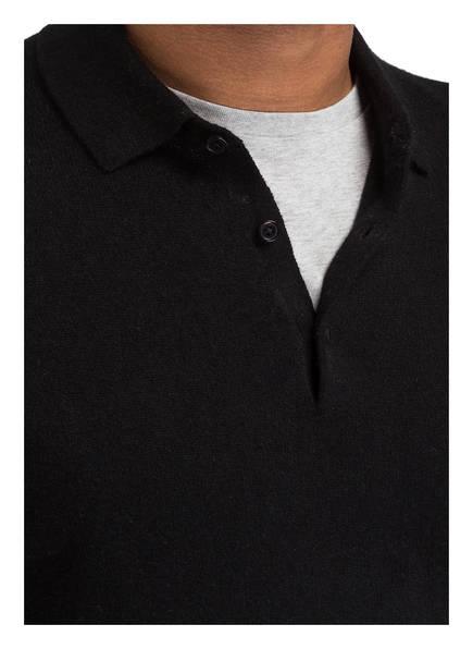 Mit Polokragen Schwarz Cashmere pullover Strokesman's wE17Rn