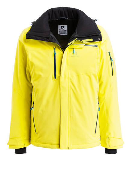 SALOMON Skijacke BRILLIANT, Farbe: NEONGELB (Bild 1)