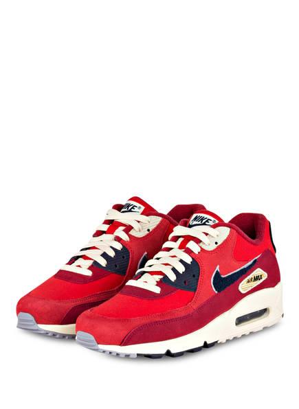 Nike Sneaker AIR MAX 90 PREMIUM SE , Farbe: ROT (Bild 1)