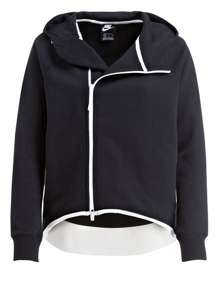 Tech Schwarz Sweatjacke Fleece Nike Cape qOwpASx8