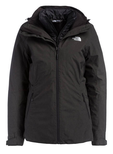 THE NORTH FACE 2-in-1 Jacke INLUX TRICLIMATE, Farbe: SCHWARZ (Bild 1)