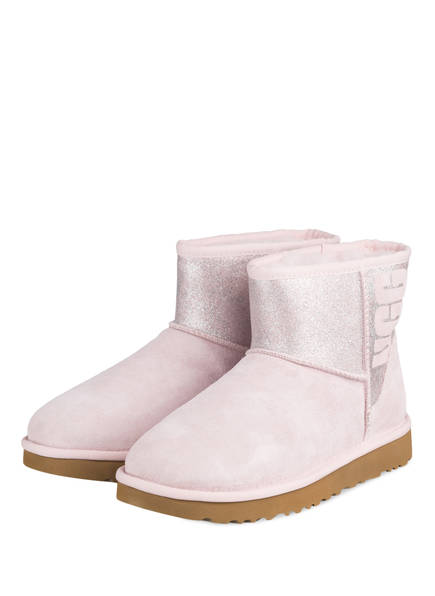 UGG Boots CLASSIC MINI, Farbe: HELLROSA (Bild 1)