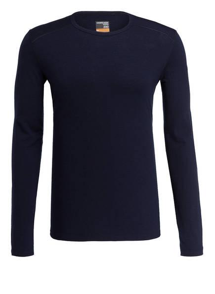 icebreaker Funktionswäsche-Shirt 200 OASIS , Farbe: DUNKELBLAU (Bild 1)