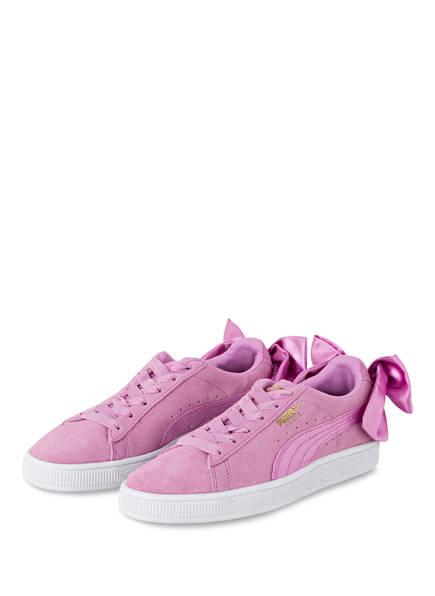 PUMA Sneaker SUEDE BOW, Farbe: ROSA (Bild 1)