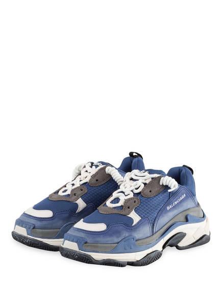 BALENCIAGA Sneaker TRIPLE S, Farbe: BLAU (Bild 1)