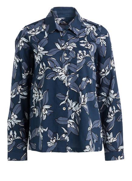 Marc O'Polo Lounge-Shirt, Farbe: DUNKELBLAU/ BLAUGRAU (Bild 1)