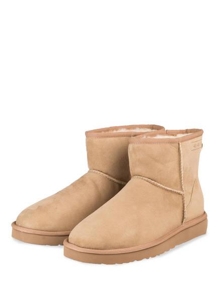 UGG Boots CLASSIC MINI, Farbe: BEIGE (Bild 1)
