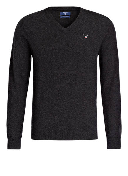GANT Pullover, Farbe: DUNKELGRAU MELIERT (Bild 1)
