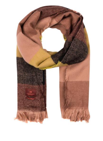SCOTCH R'BELLE Schal, Farbe: ROSA/ GELB (Bild 1)
