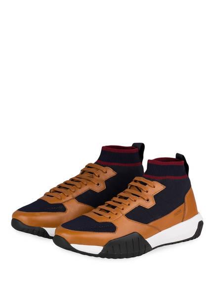 BOSS Hightop-Sneaker STORM , Farbe: BRAUN/ DUNKELBLAU  (Bild 1)
