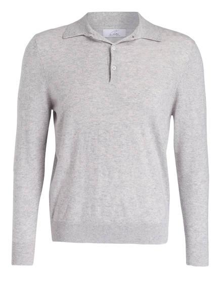 Chas Cashmere-Pullover mit Polokragen, Farbe: HELLGRAU MELIERT (Bild 1)