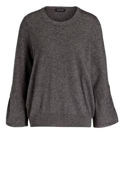 REPEAT Pullover, Farbe: DUNKELGRAU (Bild 1)