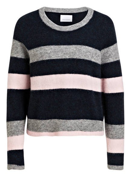 SAMSØE & SAMSØE Pullover, Farbe: DUNKELBLAU/ GRAU ROSA (Bild 1)
