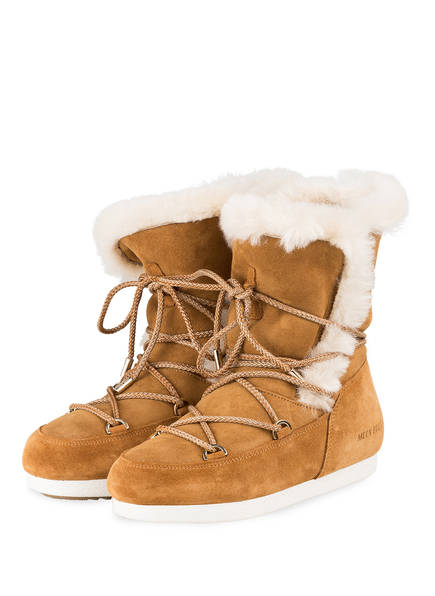 Camel Boot High Boots Moon Shearling Far Side 1x80qfv