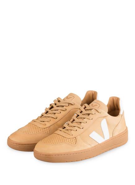 VEJA Sneaker V-10 BASTILLE, Farbe: CAMEL (Bild 1)