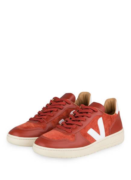 VEJA Sneaker V-10 , Farbe: ORANGE (Bild 1)
