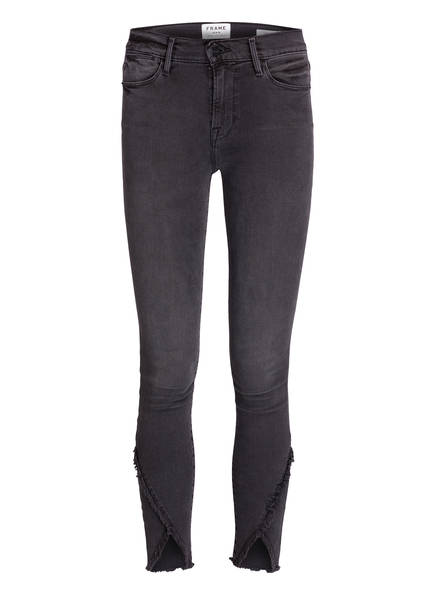 FRAME DENIM Cropped-Jeans, Farbe: QUINBY BLACK (Bild 1)