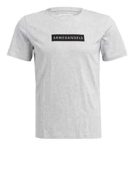 ARMEDANGELS T-Shirt JAMES, Farbe: HELLGRAU MELIERT (Bild 1)