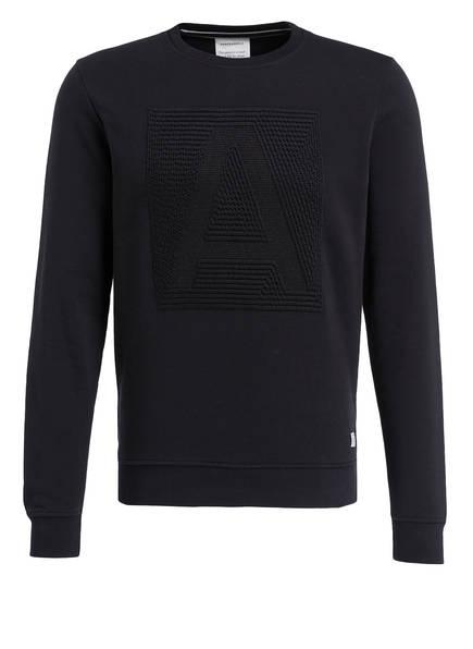 ARMEDANGELS Sweatshirt JAY LETTER, Farbe: SCHWARZ (Bild 1)