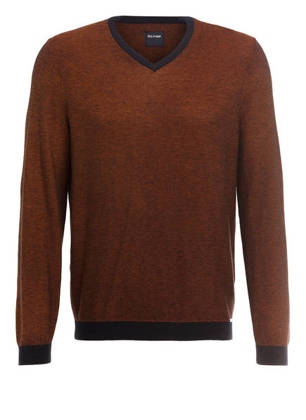 OLYMP Pullover, Farbe: BRAUN (Bild 1)